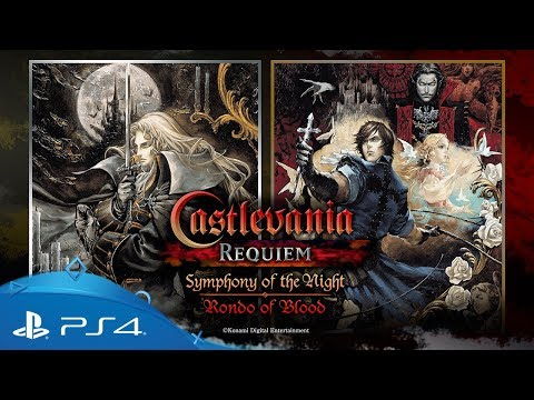 Castlevania Requiem: Symphony of the Night & Rondo of Blood | Announcement Trailer | PS4