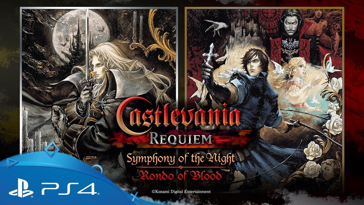 Castlevania Requiem Symphony Of The Night Rondo Of Blood Announcement Trailer Ps4 Youtube