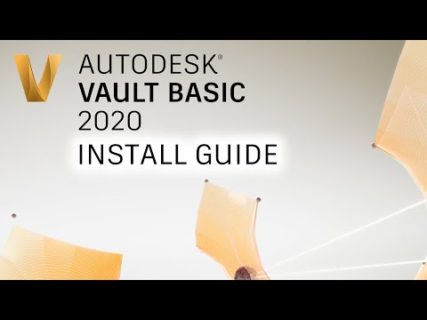 how-to-install-&-set-up-autodesk-vault-basic-2020-in-20-minutes!