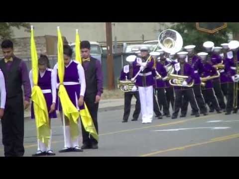 Archbishop Riordan high School Marching Band at the 2014  Lodi Ca.  Grape Bowl Classic