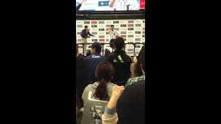 2013年4月29日西武ドーム:西武×楽天戦。柳沢慎吾がゲストで来場!『球...