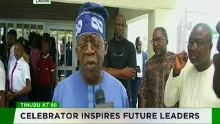 Tinubu @ 66 : Celebrator inspires future leaders