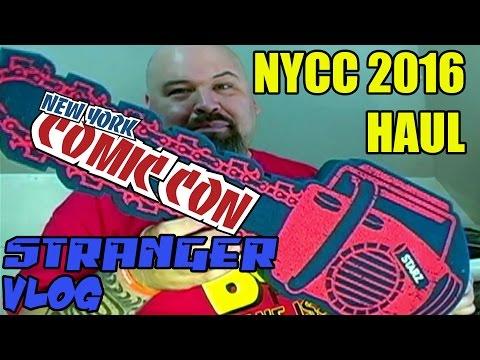 Stranger Vlog 39: New York Comic Con 2016 Haul - TWO STRANGERS ONE PODCAST