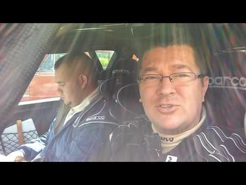 László István-Szabó Gábor Rallye2 Salgó Rallye 2017 interjú az 1. kör végén