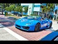 Corsa America Rally From Key Biscayne to Largest Exotic Car Showroom - Prestige Imports Miami