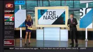 Sara Walsh Beautiful Long Legs