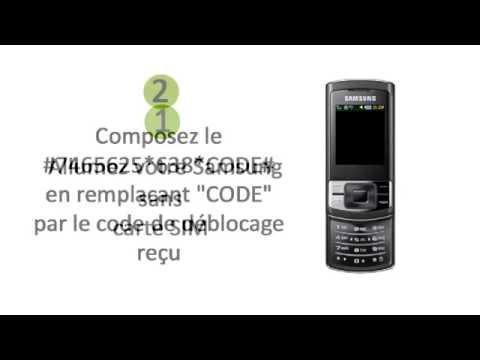Comment Débloquer un Téléphone Samsung C3050