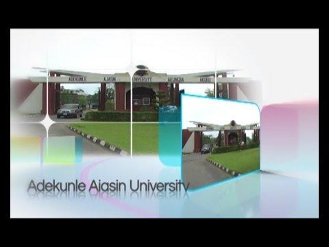 A DOCUMENTARY ON ADEKUNLE AJASIN UNIVERSITY,AKUNGBA AKOKO,ONDO STATE ,NIGERIA
