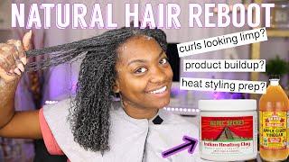 Aztec Clay Mask for Natural Hair   Natural Curly HAIR REBOOT!