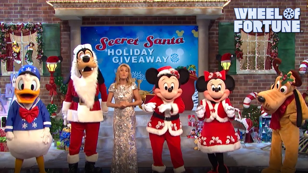Wheel Of Fortune Christmas Giveaway 2020 Tune In for the Secret Santa Holiday Giveaway | Wheel of Fortune