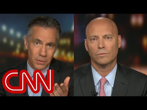 Jim Sciutto calls out ex-Trump official's 'talking point'