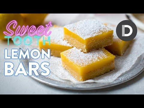 BEST Lemon Bars Recipe!   SWEET TOOTH