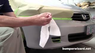 Fix Plastic Bumper Scrapes:  Complete Kit