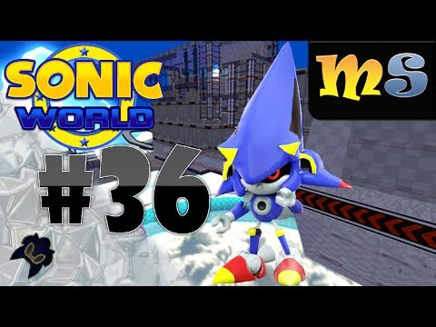 Sonic World R7 - Rocket Metal Sonic & Altitude Limit - Mod Showcase #36