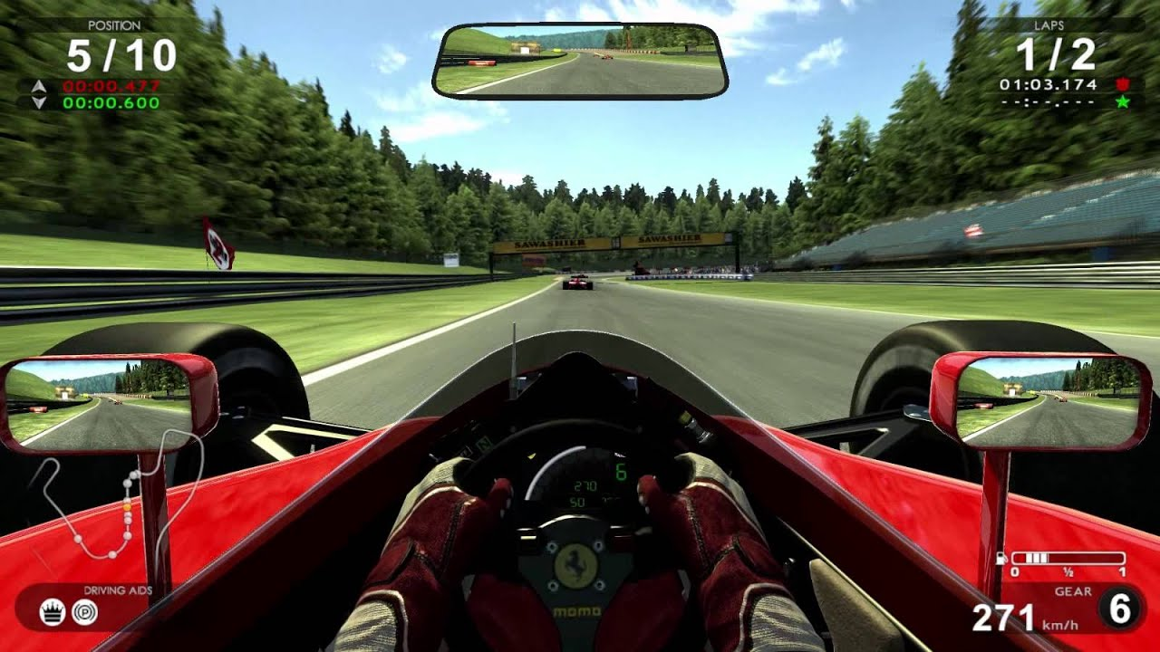 Test Drive Ferrari Racing Legends Ferrari F1 1990 Spa
