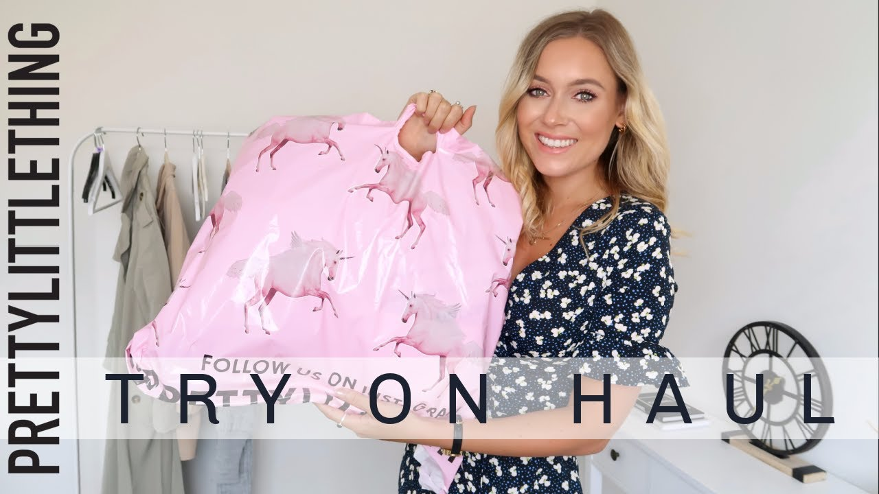 HUGE PRETTY LITTLE THING TRY ON HAUL AUGUST 2020!   Charlotte Beer