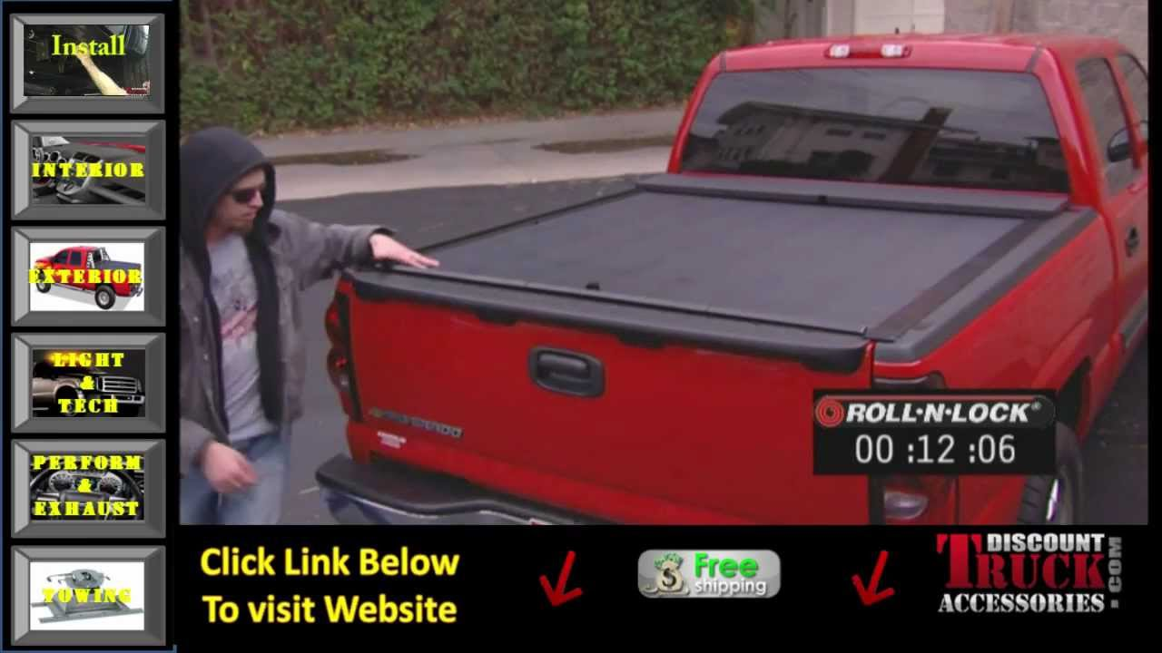 Best Retractable Tonneau Cover >> Retractable Tonneau Cover for Pickup by Roll N Lock - YouTube