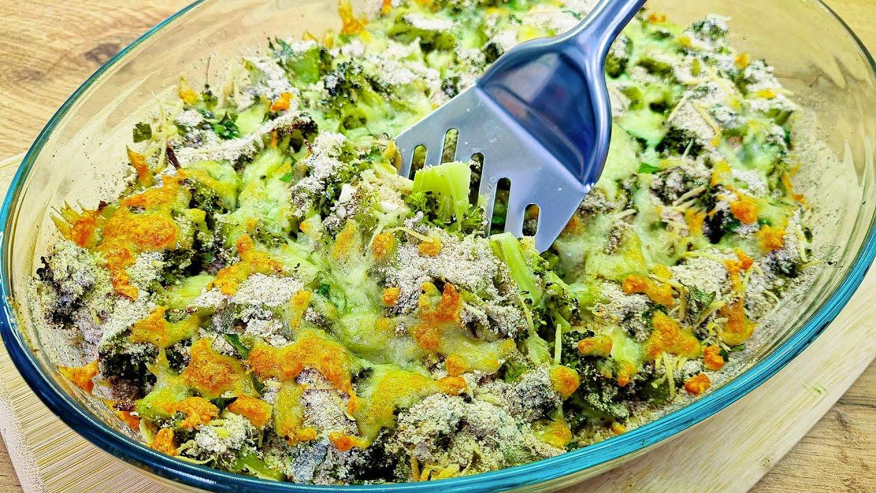 Download Brokkoli in Schichten backen! Einfaches und leckeres Rezept! brokkoli auflauf rezept