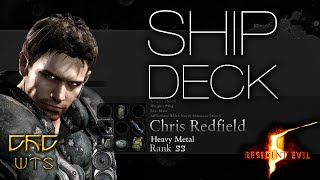 RE5 - Mercenaries Reunion Guide SS RANK Chris Heavy Metal - Ship Deck [NARRADO]