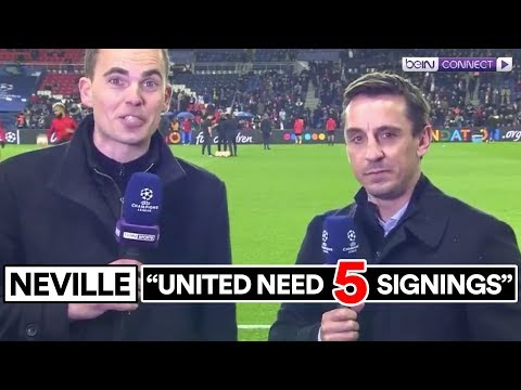 IS NEVILLE RIGHT ABOUT MAN UTD'S TRANSFERS?
