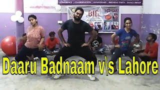 Daru badnaam lahore best dance choreography by Pratyush mahamia || daaru badnaam lahore mix