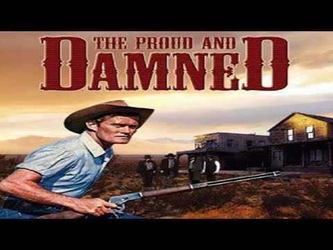 THE PROUD AND DAMNED  Chuck Connors  Full War Movie  English  HD  720p