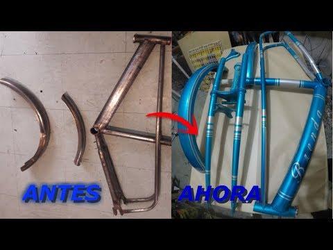 como pintar una bicicleta (flake y kandy) 3 de 3