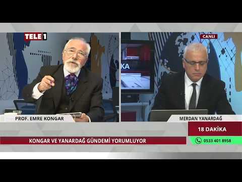18 Dakika - Merdan Yanardağ & Emre Kongar (1 Mart 2018) | Tele1 TV