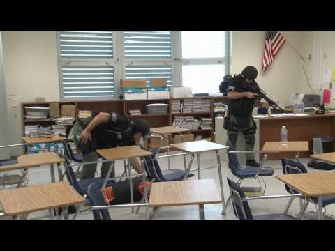 Police Explorers Training