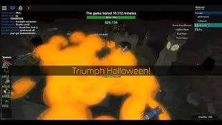 Winning The Halloween Event with Josh Mats! (Roblox Tower Battles)