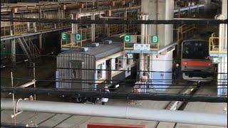 JR日光線観光車両「いろは」改造中@大宮総合車両センター 205系