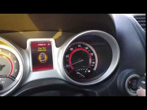 Fix Key Not Detected 2 Dodge Journey 2013 Youtube