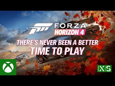 Forza Horizon 4 Optimized for Xbox Series X S