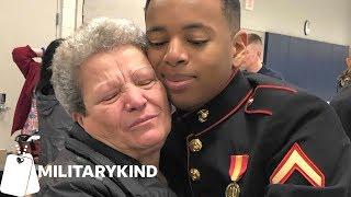Marine surprises grandma and honors grandfather's legacy   Militarykind thumbnail