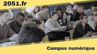 Campus numérique avec l'EDHEC
