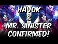 Havok & Mister Sinister Confirmed for X-Men February 2019 Event! - Marvel Contest Of Champions
