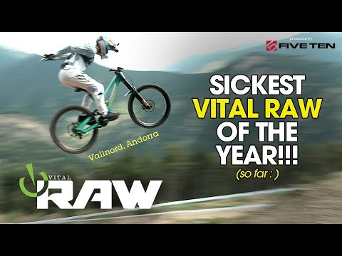 BEST VITAL RAW OF THE YEAR - Andorra World Cup DH Day 1