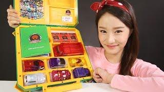 캐리의 터닝메카드 바벨 모스톤 메가 그리폰 스핑크스 터닝카 배틀박스 장난감 놀이 carrieandtoys