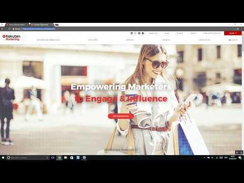 How to start with rakuten affiliate network