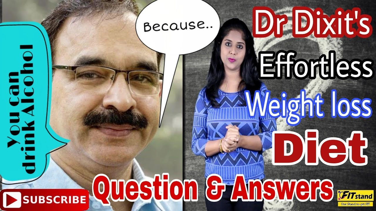 Dr Jagannath Dixit Effortless Weight Loss Diet Plan Question And Answers In Hindi Youtube
