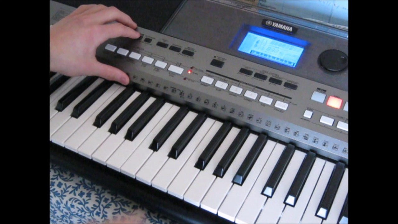 yamaha psr e443 recording demo youtube. Black Bedroom Furniture Sets. Home Design Ideas