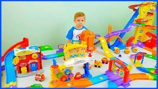БОЛЬШОЙ ТРЕК Vtech с Машинками - Интерактивные игрушки и машинки для детей. Cars Toys