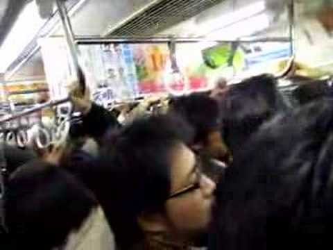 Maddog's Move to Tokyo Crowded Train Day 31