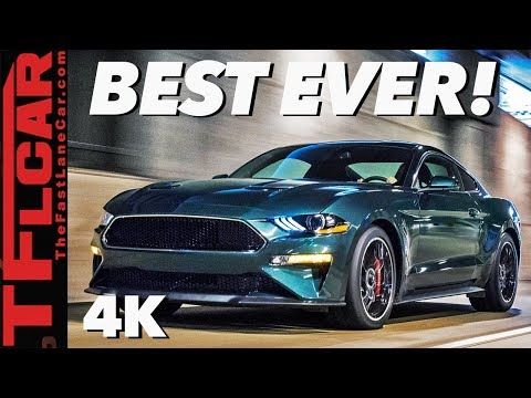 The 2019 Ford Mustang Bullitt Is The Greatest Mustang Ford's Ever Built
