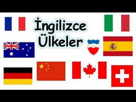 Ingilizce ülkeler ülkelerin Bayrakları Milletler Youtube