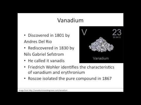 Titanium and Vanadium