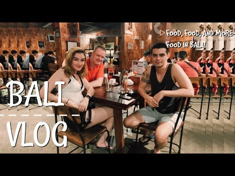 FOOD, FOOD, AND MORE FOOD IN BALI! - Day 5 | #BaliVlogs