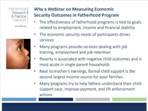 A Conversation with Researchers About Measuring Economic Security Outcomes in Fatherhood Programs
