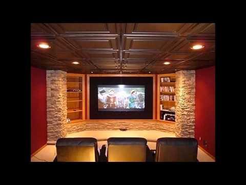 Home Theater Dark Ceiling Ideas
