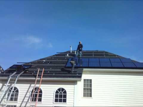 9.87 kW Residential Solar Energy System Installation